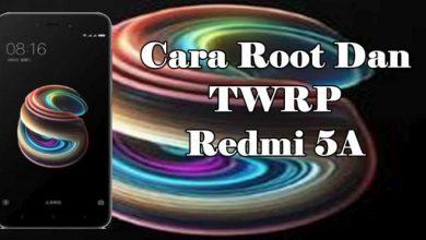cara root redmi 5a