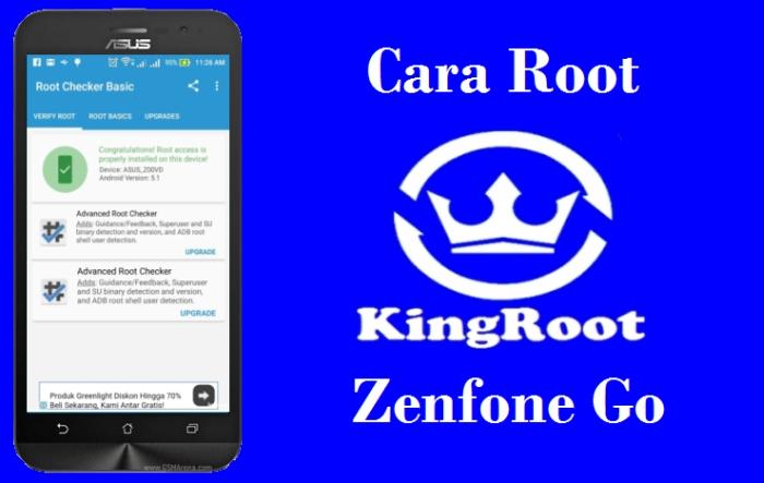 Cara Root Paling Mudah di ASUS Zenfone Go ZC500TG/Z00VD 1