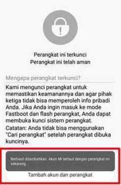 Cara UBL / Unlock Bootloader Xiaomi Redmi Note 5A / Prime 4