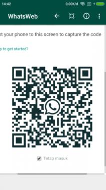 Barcode Scanner Whatsapp