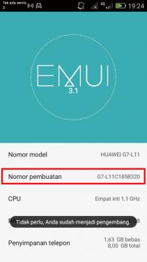 Cara Mengaktifkan USB Debugging HP Android Huawei 2
