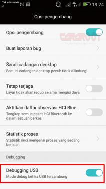 Cara Mengaktifkan USB Debugging HP Android Huawei 3