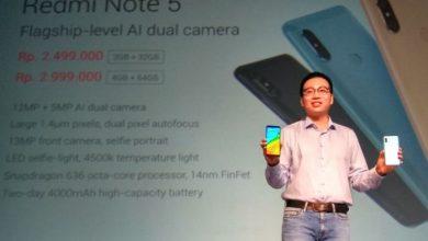 Gambar Baru Rilis! Harga dan Spesifikasi Xiaomi Redmi Note 5 Dual Kamera 1