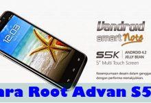 Cara Root Advan S5K Tanpa PC