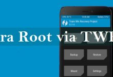 cara root dengan install supersu via TWRP
