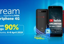 Evercoss Xtream 1/Plus Smartphone Kolaborasi Bersama XL dan YouTube 4