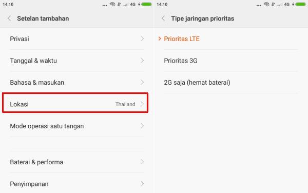 Gambar Cara Memperbaiki Sinyal 4G yang Hilang Xiaomi Redmi Note 2 1