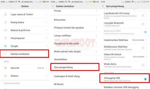 Cara UBL / Unlock Bootloader Xiaomi Redmi Note 5A / Prime 3