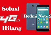 Gambar Cara Memperbaiki Sinyal 4G yang Hilang Xiaomi Redmi Note 2 4