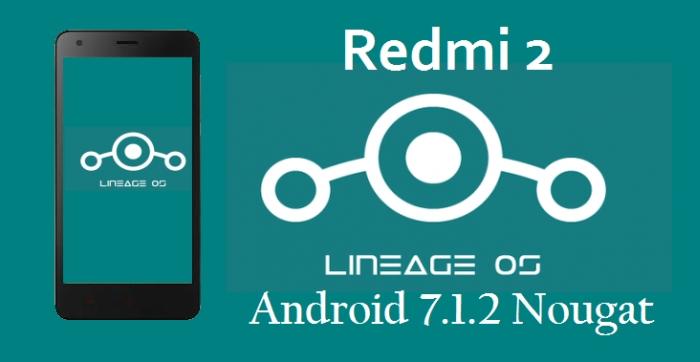 Cara Install ROM LineageOS Nougat Redmi 2