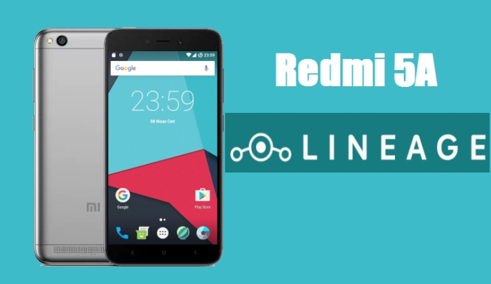 ROM LineageOS 14.1 Android 7.1.2 Nougat Redmi 5A (Riva) 1