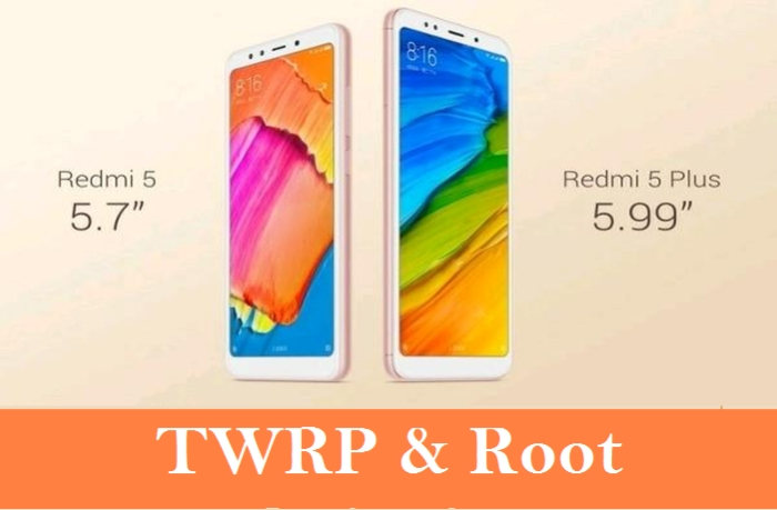 cara root dan pasang TWRP Redmi 5