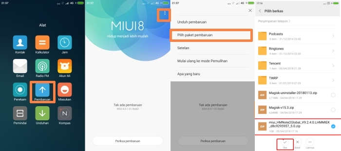 Update MIUI 9.5 Global Stable V9.5.3.0 Marshamllow Redmi Note 3 1