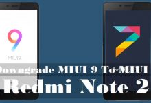 Cara Downgrade MIUI 9 ke MIUI 7 Redmi Note 2 4