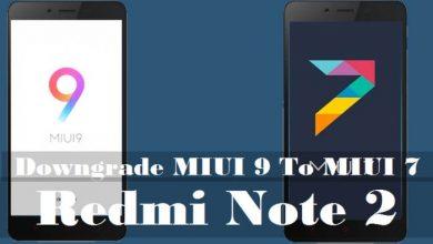 Cara Downgrade MIUI 9 ke MIUI 7 Xiaomi Redmi Note 2 5