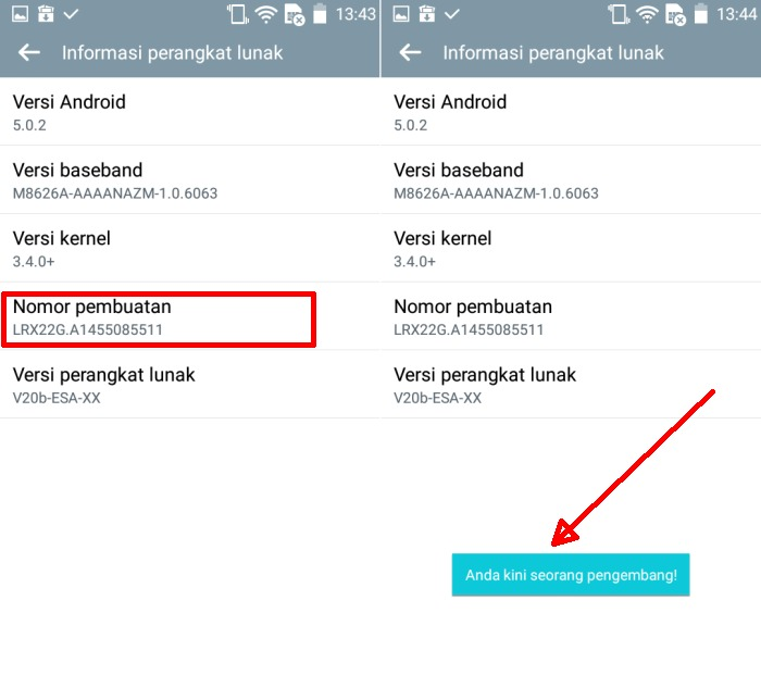 Cara Mengaktifkan Developer Option dan USB Debugging di LG 2