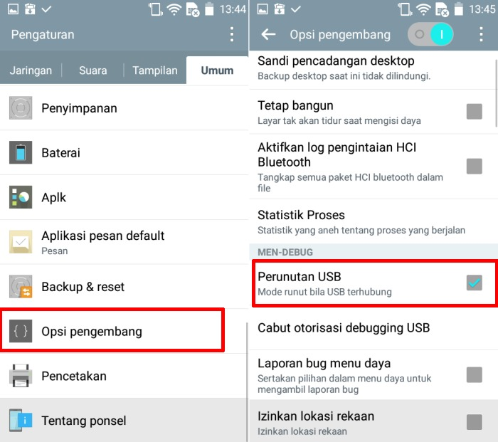 Cara Mengaktifkan Developer Option dan USB Debugging di LG 3