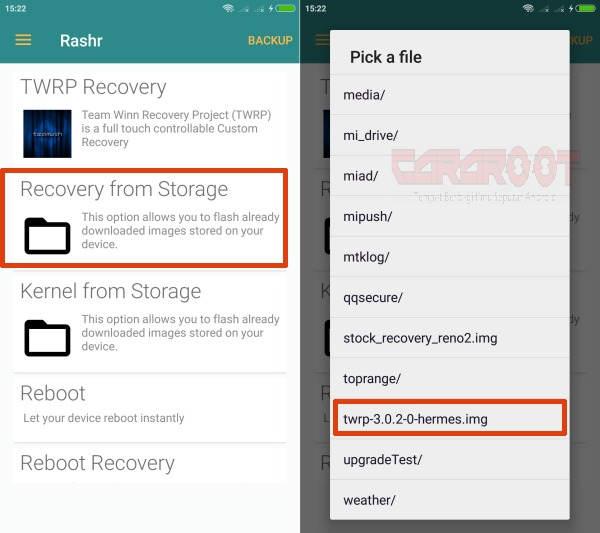 Cara Mendapatkan Akses Root Redmi Note 2 (Hermes) Tanpa PC 4