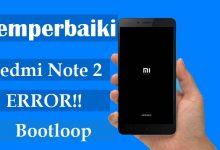 Gambar Cara Memperbaiki Xiaomi Redmi Note 2 Error/Stuck di Logo 5