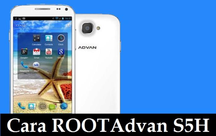 2 Metode Root Advan Vandroid S5H Tanpa Komputer 1
