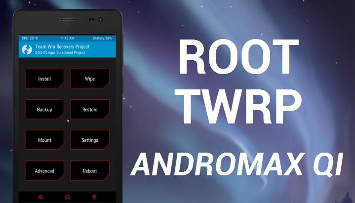 Cara Root Dan Pasang TWRP Andromax Qi Tanpa PC