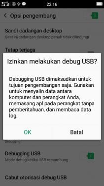 Cara Mengaktifkan Opsi Pengembang dan USB Debugging OPPO 4