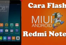 Gambar Cara Flash Redmi Note 2 / Prime dengan Mi Flash Tool 4