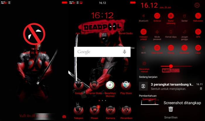 Gambar Beberapa Tema Oppo ColorOS 9
