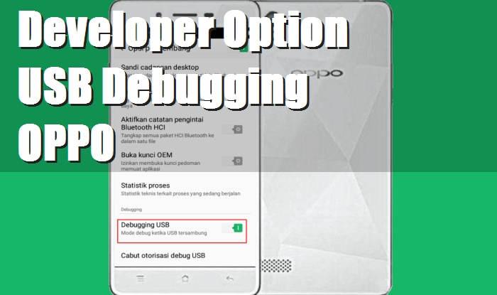 Cara Mengaktifkan Opsi Pengembang Dan USB Debugging OPPO