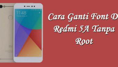 Gambar Cara Mengubah Font Xiaomi Redmi 5A / Note 5A Tanpa Root 2