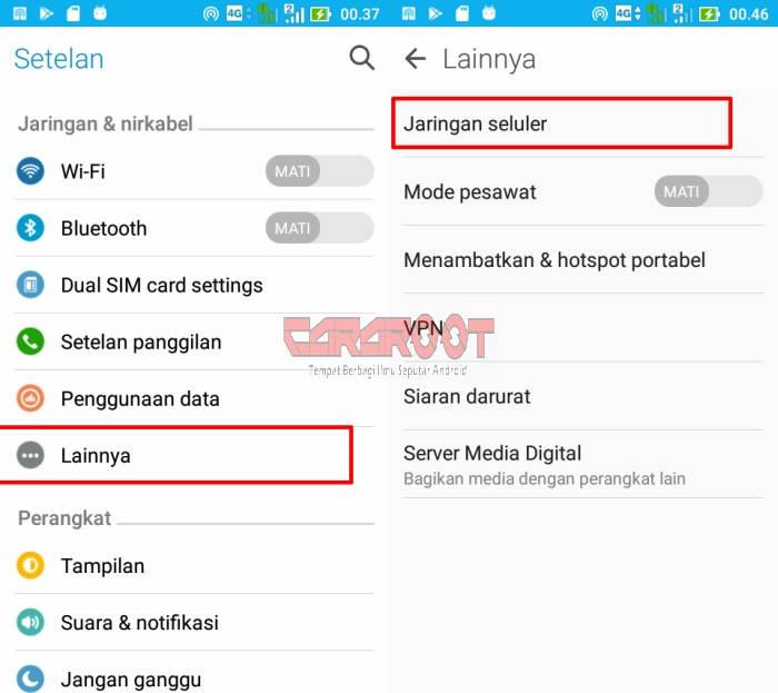 Cara Menggunakan Smartfren 4G di ASUS Zenfone 7