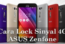 Cara Kunci / Lock Sinyal / Jaringan 4G pada ASUS Zenfone 4
