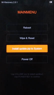 Download Stock Mi Recovery / Recovery Bawaan Redmi Note 2 6
