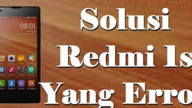 Solusi Redmi 1s yang Error dan Bootloop atau Stuck di Logo Mi 2