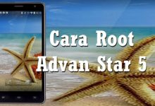 Cara Root Advan Star 5