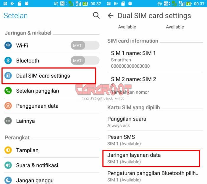 Cara Menggunakan Smartfren 4G di ASUS Zenfone 6