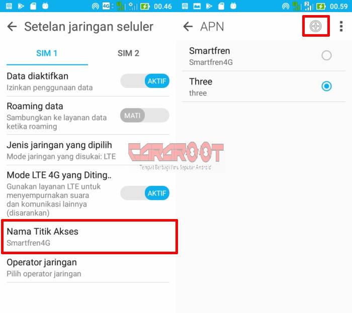 Cara Menggunakan Smartfren 4G di ASUS Zenfone 8