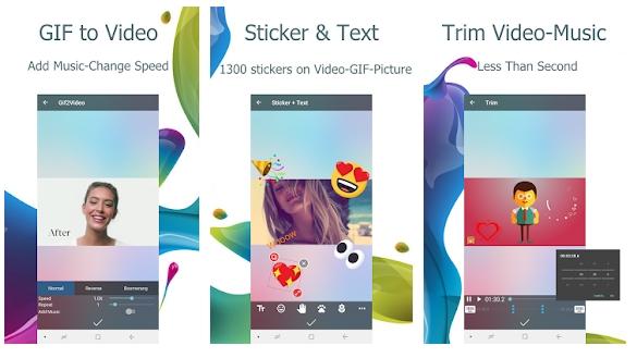 Video2me:Gif Maker App & Video