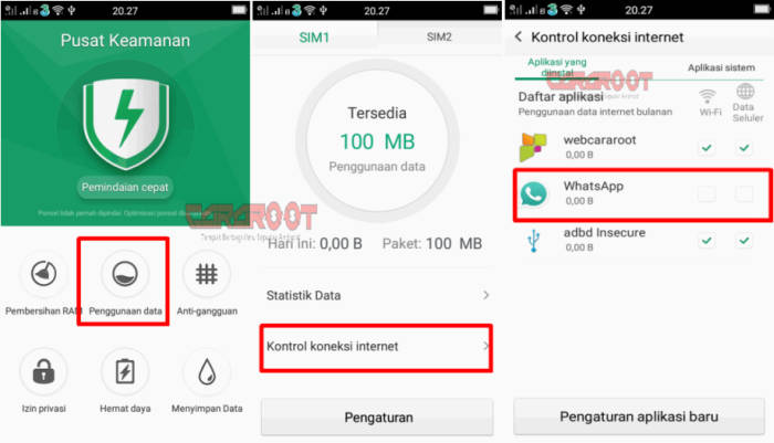 Cara Menonaktifkan Whatsapp Sementara Oppo