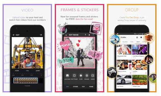Cara Menggunakan Aplikasi Foto Editor PicMix Di Android