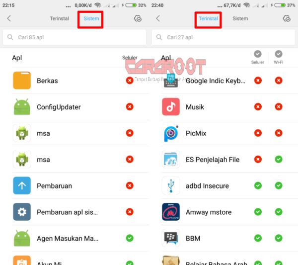 Batasi Iklan Xiaomi