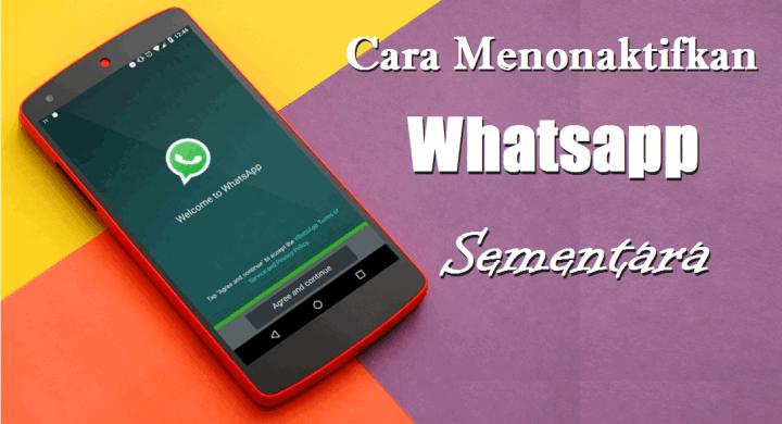 Cara Menonaktifkan Whatsapp Sementara di HP OPPO, ASUS, Xiaomi dan Vivo 1