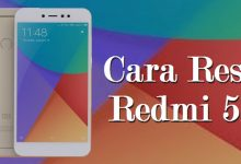 Cara Hard / Factory Reset Xiaomi Redmi 5A dan Redmi Note 5A 5