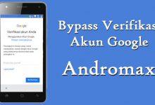 Cara Melewati / Bypass Verifikasi Akun Google (FRP) Andromax 1