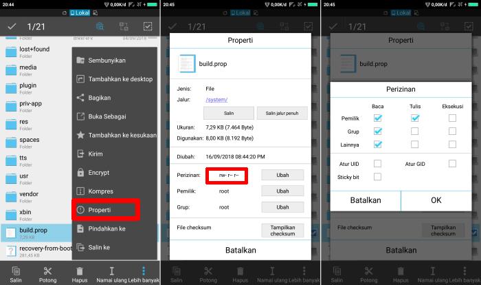 Cara Edit Build.prop Menggunakan Aplikasi ES File Explorer 8