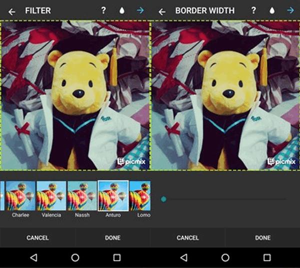 Cara Menggunakan Aplikasi Foto Editor PicMix di Android 4