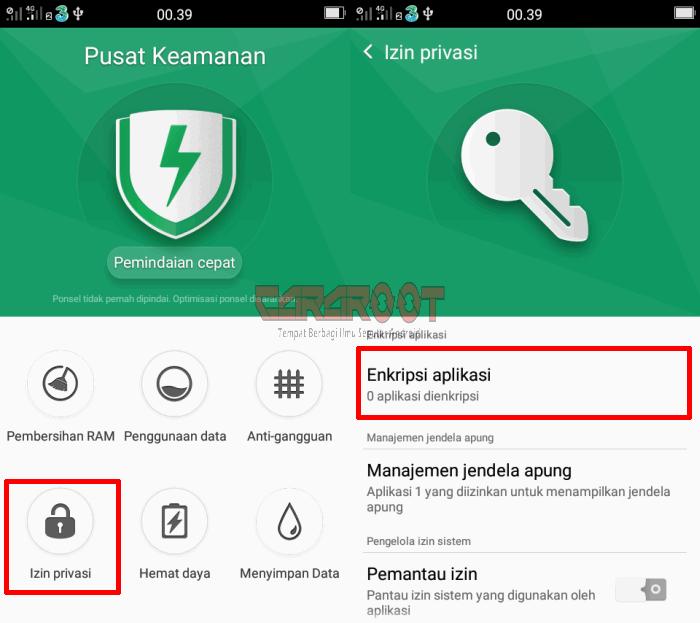 kunci aplikasi Whatsapp oppo