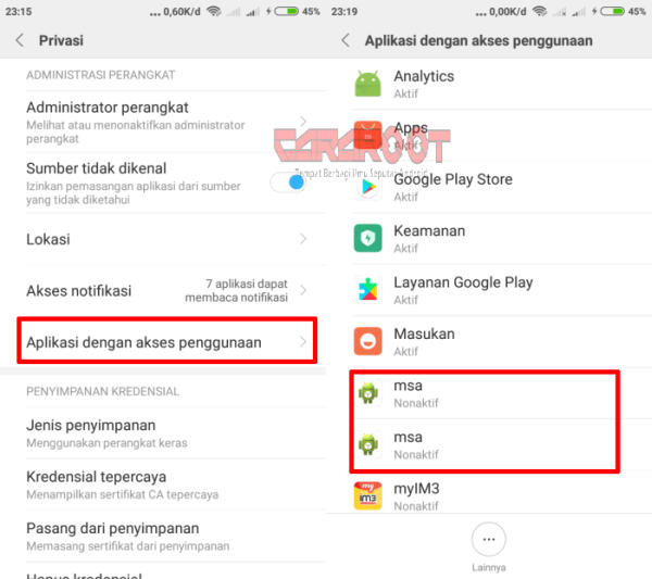 3 Cara Menghilangkan Iklan Di Xiaomi Tanpa Root 2