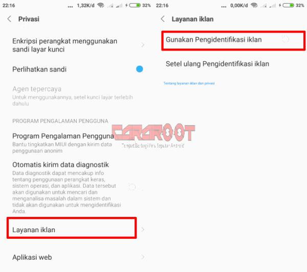 Layanan Iklan Xiaomi