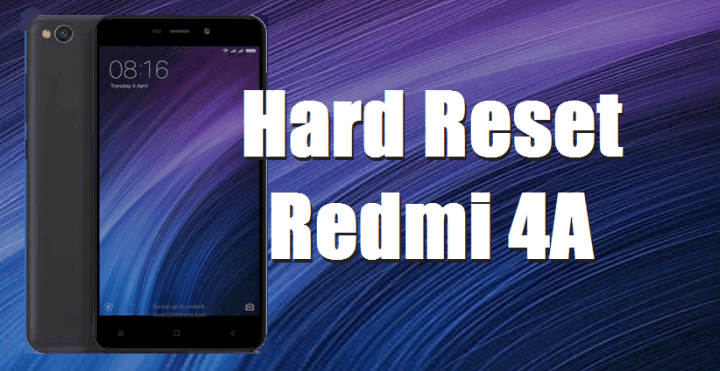 cara hard reset redmi 4a rolex